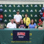 Abby Hodges Signs with Lyon College