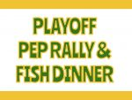 Playoff Pep Rally and Bonfire Thursday