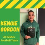 Gordon Named to the All-MSAIS Football Team