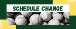 Tuesday Games Moved to Monday