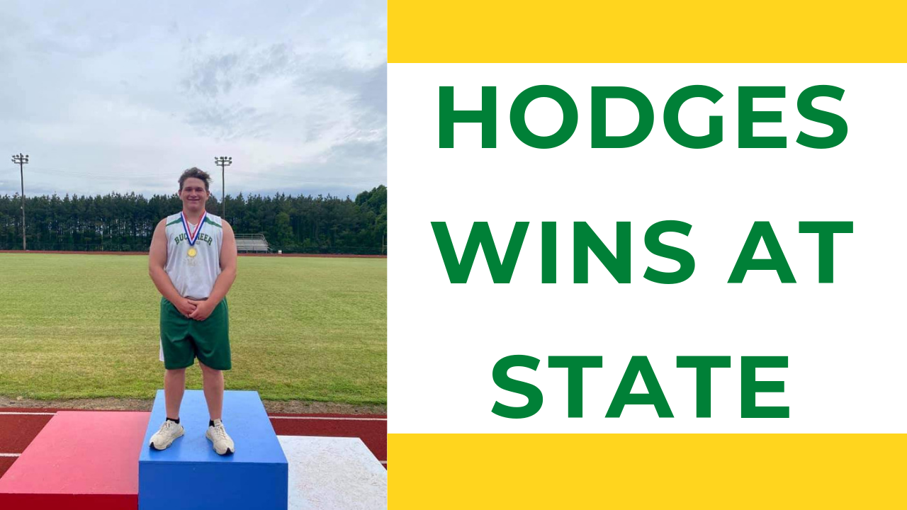 Hodges Takes 1st at State