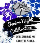 Senior Night 10/23 vs Lake Marion