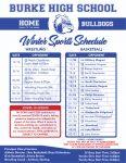 Winter Sport Schedule 2020-2021