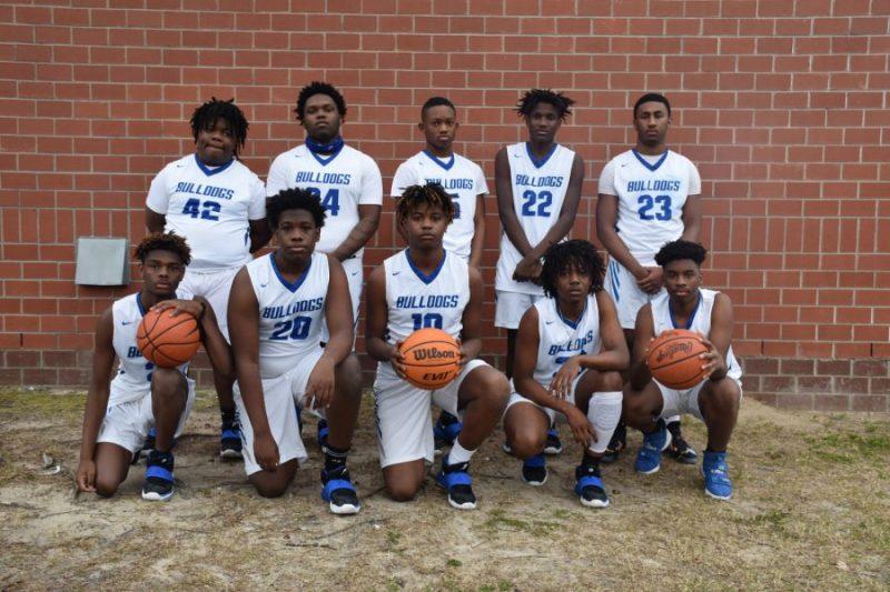 JV Boys Basketball Team Photo 2020-2021