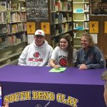 Alexis Love signs with Lake Michigan College