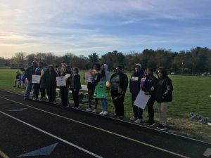 Boys and Girls Senior night Track pictures