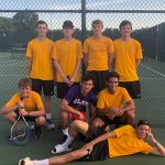 Boys Tennis wins 1st match of the year