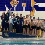 Boys City Swimming awards