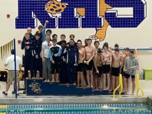Boys City Swimming awards