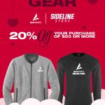 Special Valentines Sideline Store offer