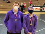 Wrestling finishes 3rd  at West Central Duals