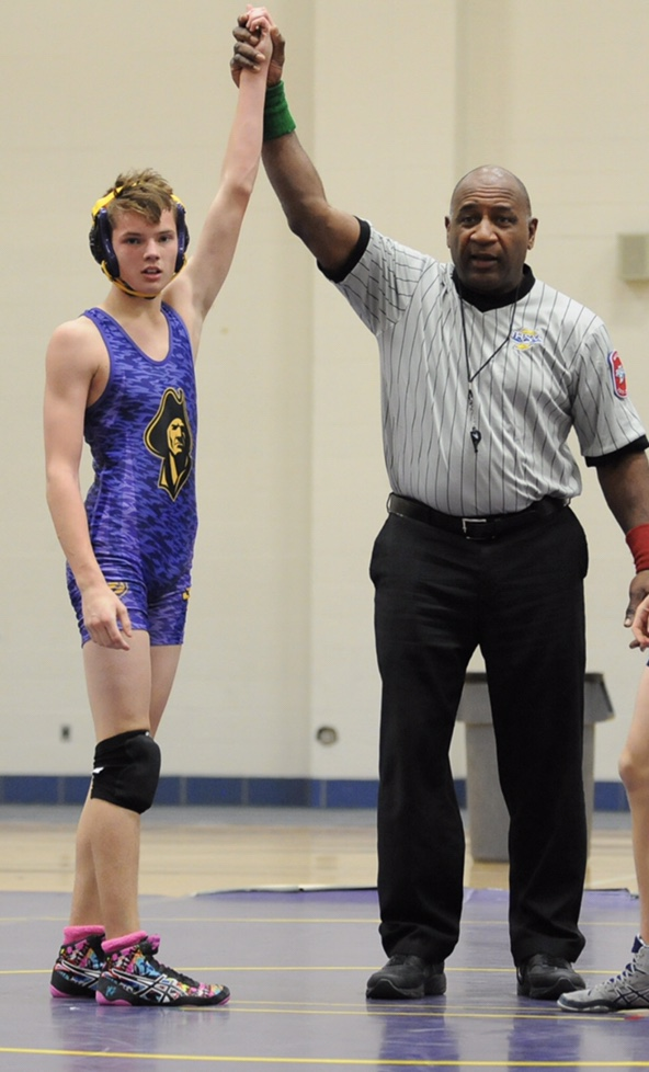 History made at IHSAA Sectional For a Clay Wrestler