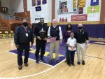Cornell honored by SBCSC for  being selected to Indiana Basketball Hall of Fame Silver Anniversary Team