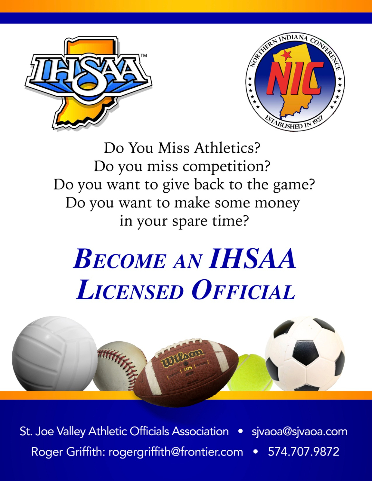 Want to become an IHSAA Official?