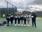 Girls Tennis Celebrates Senior Night