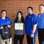 Charley Shaffer named Student-Athlete of the month