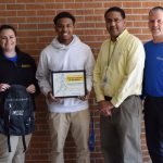 Damariae Claiborne North Oaks Student Athlete of the Month