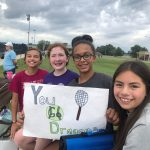 Kindness Club cheers on PCMS tennis team