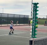 PCMS girls Tennis @ Chanute 9-14
