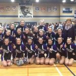 Shelby High School Girls Varsity Competitive Cheer finishes 1st place
