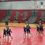 Girls Varsity Competitive Cheer finishes 2nd place at Michigan Center Invite
