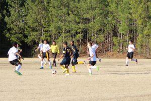 Gray soccer beats Keenan 10-2