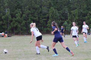 Girls soccer vs. Heathwood