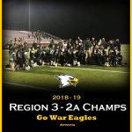 War Eagles Win First Region Title in Football