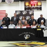 GCA Student Athletes Sign National Letters of Intent