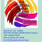 GCA Volleyball Camp