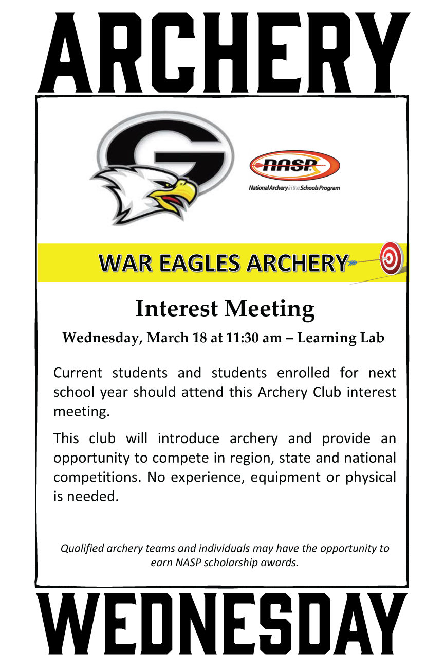 Archery Interest Meeting