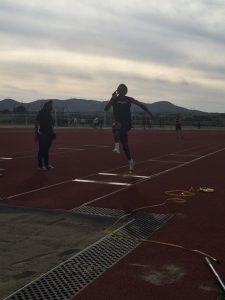 Banning vs. Grand Terrace Track Meet