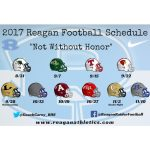 2017 Reagan Football Schedule