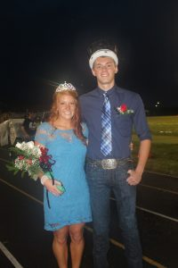 Homecoming King and Queen Candidates