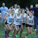 Girls Cross Country Team Finishes 3rd at Sectional