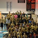 Western High School Swimming Varsity Boys finishes 1st place at MIC Championship