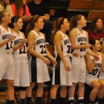 Western High School Basketball Varsity Girls beats Lewis Cass High School 50-27