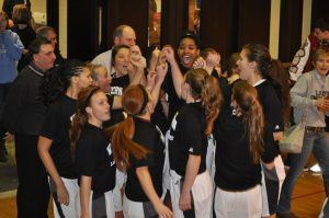 Girls Basketball Regional First Game