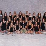 Western High School Tennis Varsity Girls finishes 1st place at Kokomo