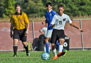 Boys Soccer vs Frankfort – Thank You Carla Smith