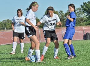 JV Soccer vs Carroll – Thank you Mrs. Smith