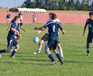 Boys Soccer vs Oak Hill – Thank you Mr. Jones