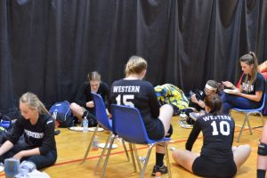 Volleyball at Lafayette Jeff Tournament II