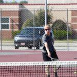 Boy Tennis - Hartsough Photography