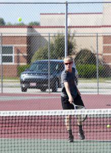Boy Tennis – Hartsough Photography