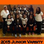 Junior Varsity Players and Coaches