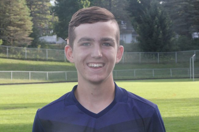 @ Pioneer: Crossroads' Omo tallying points for Cougar soccer team