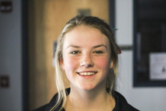 @ Pioneer: Crossroads wins district game, Cougars' Maddie Alber confident