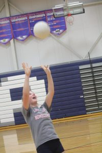 Alber Ready for Banner Volleyball Season