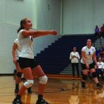 Cougars claw through Cardinals in four sets